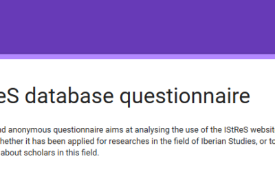 IStReS database questionnaire