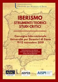 """Convegno internazionale """"Iberismo: strumenti teorici e studi critici"""""""