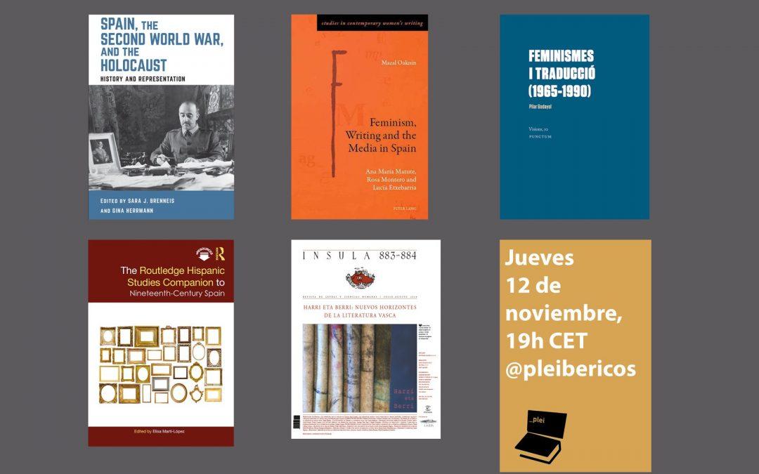 Fifth Pleibéricos Event (November 12, 7 pm CET)