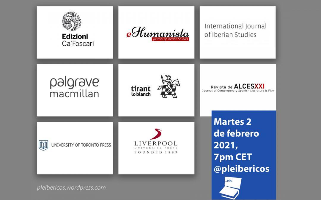 Seventh Pleibéricos Event (2 February, 7 pm CET)
