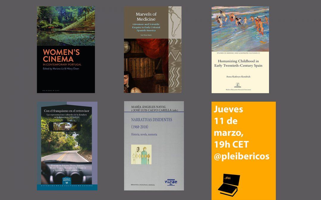 Eighth Pleibéricos Event (March 11, 7 pm CET)