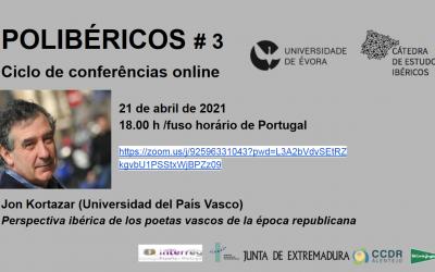 Third 'Polibéricos' lecture (21 April 2021)