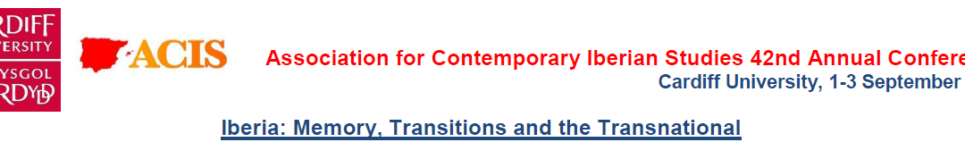 42nd Association of Contemporary Iberian Studies Conference