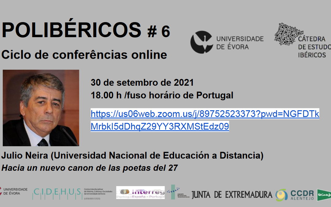 Sixth 'Polibéricos' Lecture (30 September 2021)