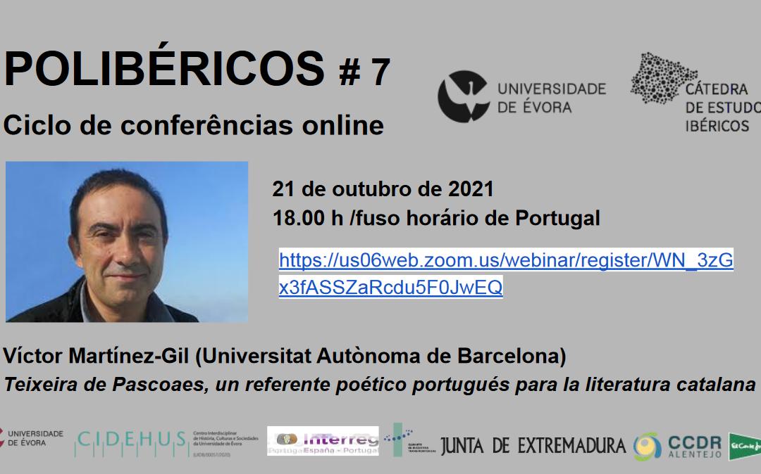 7th Polibéricos lecture (21 October 2021)